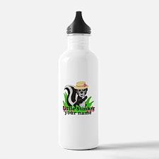 Personalized Little Stinker (Girl) Water Bottle