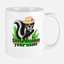 Personalized Little Stinker (Girl) Mug