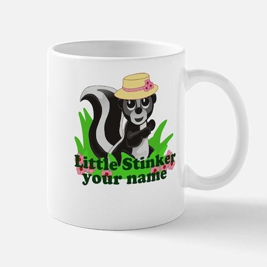 Personalized Little Stinker (Girl) Mug