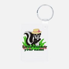 Personalized Little Stinker (Girl) Keychains