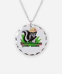Personalized Little Stinker (Girl) Necklace