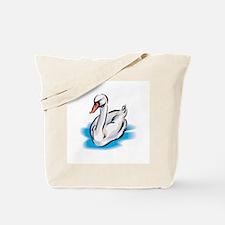 Pretty Swan Tote Bag