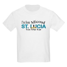 Micoud St. Lucia Kids T-Shirt