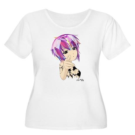 Bang Bang Women's Plus Size Scoop Neck T-Shirt