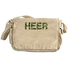 Heer, Vintage Camo, Messenger Bag