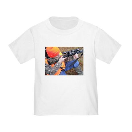 Hunter Aiming Toddler T-Shirt