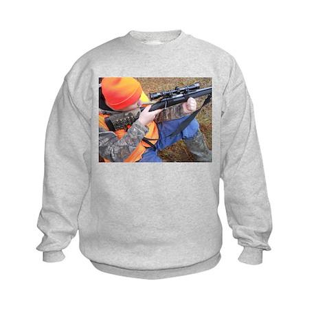 Hunter Aiming Kids Sweatshirt