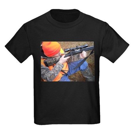 Hunter Aiming Kids Dark T-Shirt