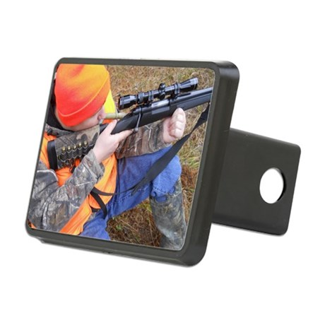 Hunter Aiming Rectangular Hitch Cover