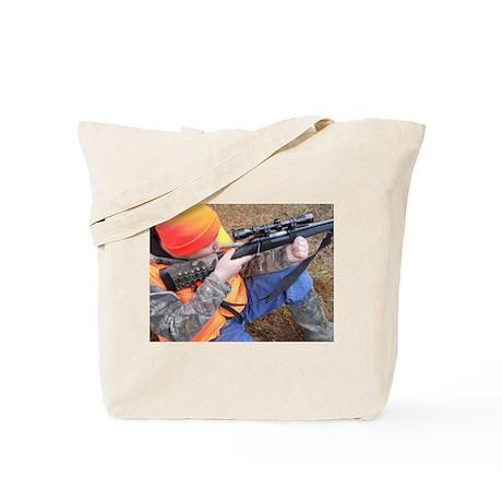 Hunter Aiming Tote Bag