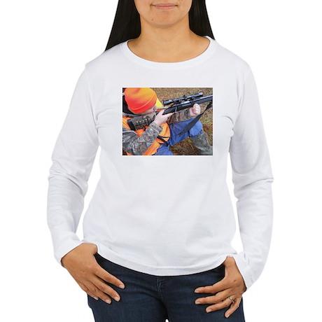 Hunter Aiming Women's Long Sleeve T-Shirt