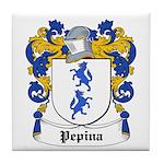 Pepina Coat of Arms Tile Coaster