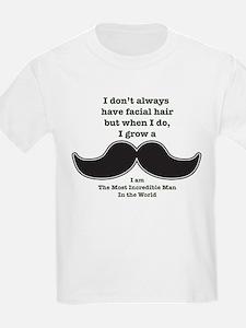Mustache Saying T-Shirt