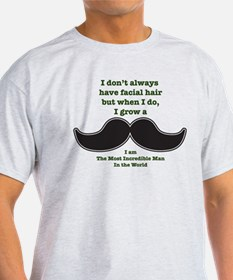 Mustache Saying T-Shirt
