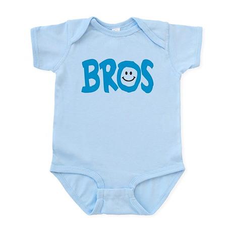 Brothers Bros Happy Smile Infant Bodysuit