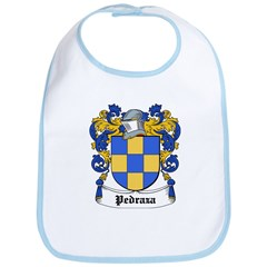 Pedraza Coat of Arms Bib