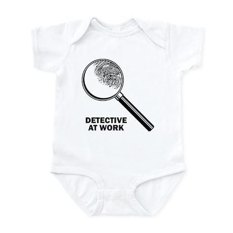 Detective At Work Infant Bodysuit