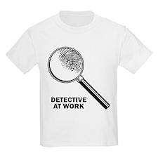 Detective At Work Kids T-Shirt