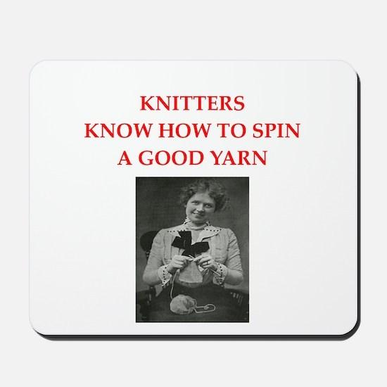 knitters Mousepad
