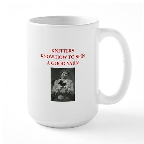 knitters Large Mug