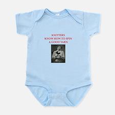 knitters Infant Bodysuit