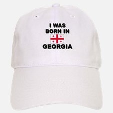 I Was Born In Georgia Baseball Baseball Cap
