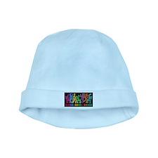 Dance Dance Dance baby hat