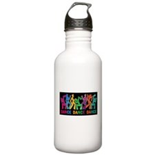 Dance Dance Dance Sports Water Bottle