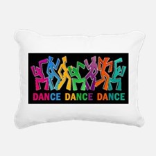 Dance Dance Dance Rectangular Canvas Pillow