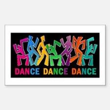 Dance Dance Dance Decal