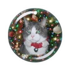 Cat Ornament Ornament (Round)