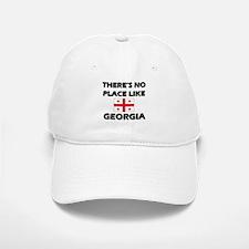 There Is No Place Like Georgia Baseball Baseball Cap