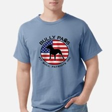 Bully Paws Logo Mens Comfort Colors Shirt