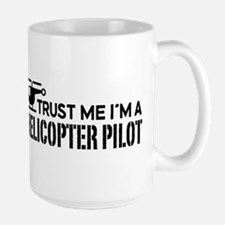 Helicopter Pilot Ceramic Mugs