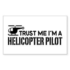 Helicopter Pilot Decal