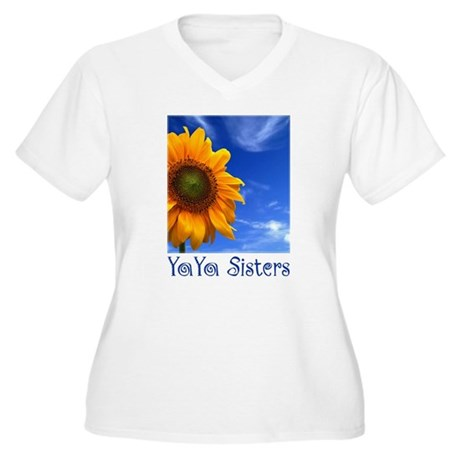 sunflower_logo_back Plus Size T-Shirt