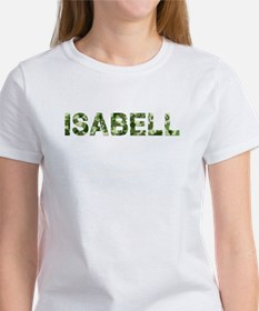 Isabell, Vintage Camo, Women's T-Shirt