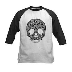 Psychedelic Skull Black Tee