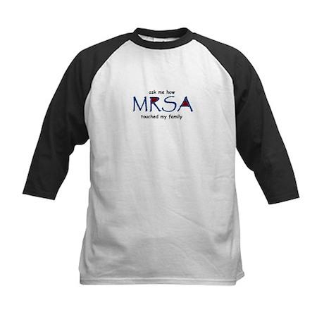 MRSA Family Kids Baseball Jersey