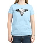 Skull and Guns Women's Light T-Shirt