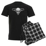 Skull and Guns Men's Dark Pajamas