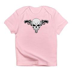 Skull and Guns Infant T-Shirt