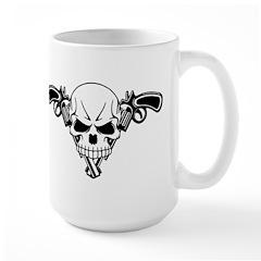Skull and Guns Mug