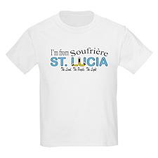 Soufriere St. Lucia Kids T-Shirt