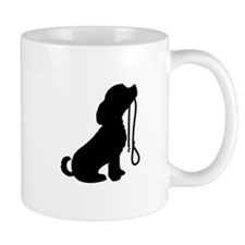 Dog and Leash Mug