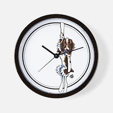 Clingy Springer Wall Clock