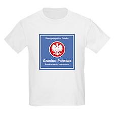Granica Panstwa Kids T-Shirt