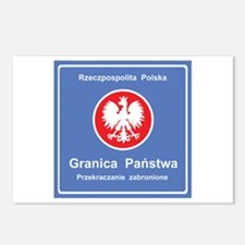 Granica Panstwa Postcards (Package of 8)