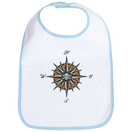 Pirate Compass V Bib