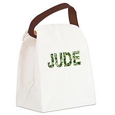 Jude, Vintage Camo, Canvas Lunch Bag